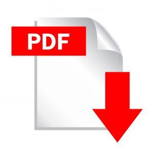 Pdf file download icon, vector illustration